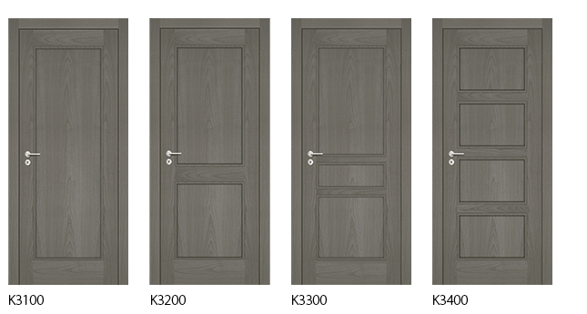 Interior doors K Range - Marina Grey